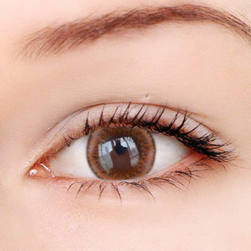 Summer Fluorescence Brown Contact Lenses - Zebrant