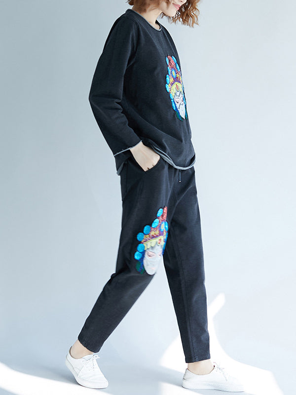 CASUAL PRINTED COMFORTABLE SUITS - Zebrant
