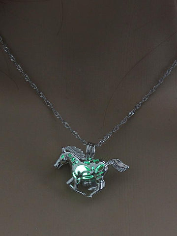 Luminous Horse Pendant Accessories - Zebrant