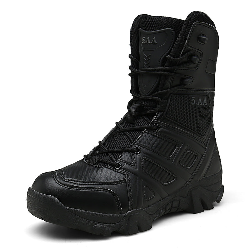 Big Size 47 Tactical Men's Military Boot 2019 Waterproof High Top Desert Tactical Boots Combat Boots Men Outdoor Climbing Sport - Zebrant