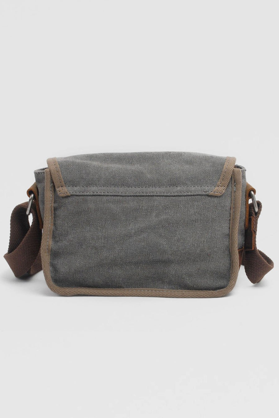 Vintage Leather Canvas Bag - Zebrant