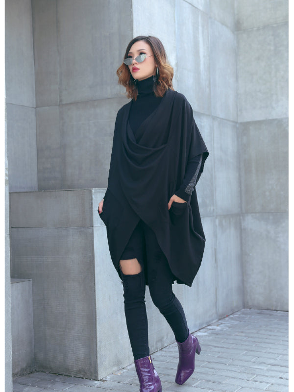 CASUAL ASYMMETRIC INTERSECT CLOAK - Zebrant