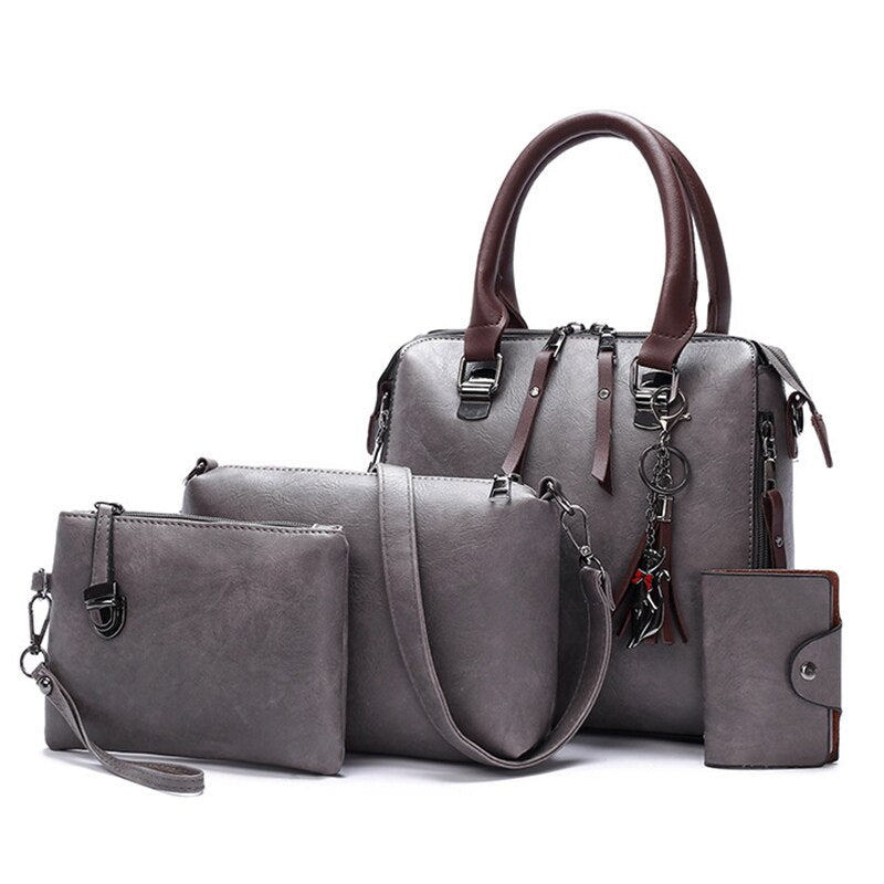 Luxury Pu Leather Womens Purse and Handbags Famous Brands Designer - Zebrant