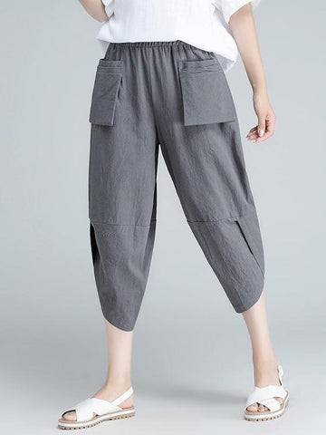 Loose Comfortable Folk Pants - Zebrant