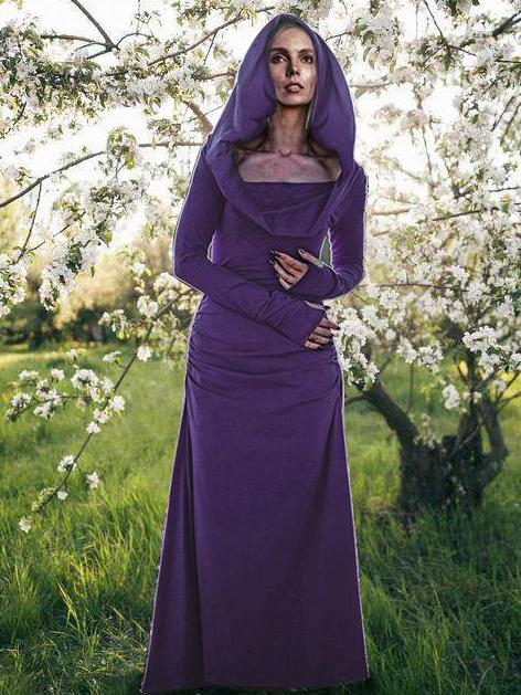 Backless Long Sleeved Hooded Maxi Dress - Zebrant