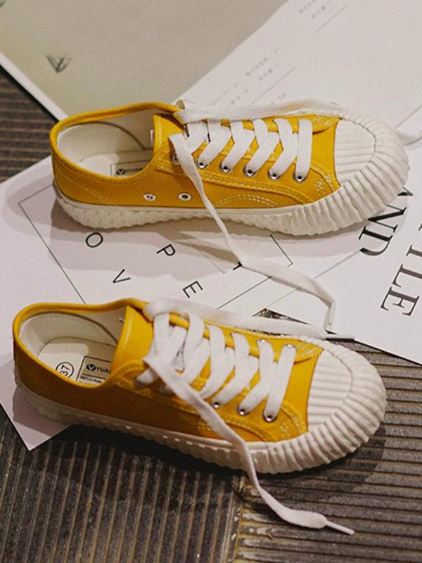 Low Top Canvas Sneakers