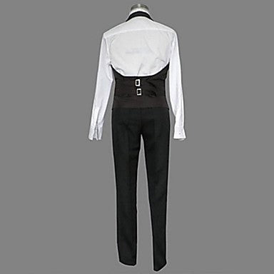 Inspired by Black Butler Sebastian Michaelis Anime Cosplay Costumes Cosplay Suits Solid - Zebrant