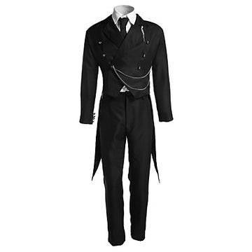 Inspired by Black Butler Sebastian Michaelis Anime Cosplay Costumes Cosplay Suits Solid
