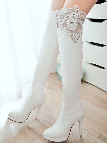 Fashion Trendy lace Up boots - Zebrant