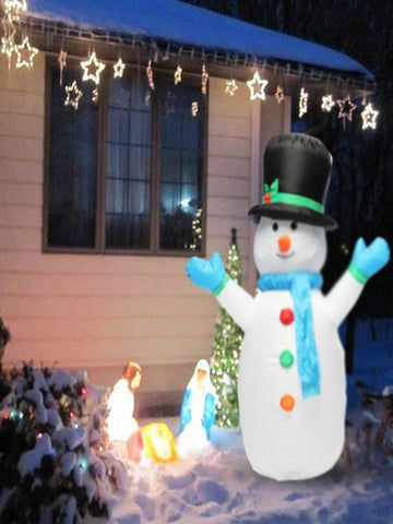 4ft Airblown Christmas Inflatable Snowman Outdoor Xmas Decoration
