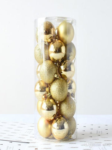 Christmas balls decoration for New Year Tree in Different Colors - Zebrant
