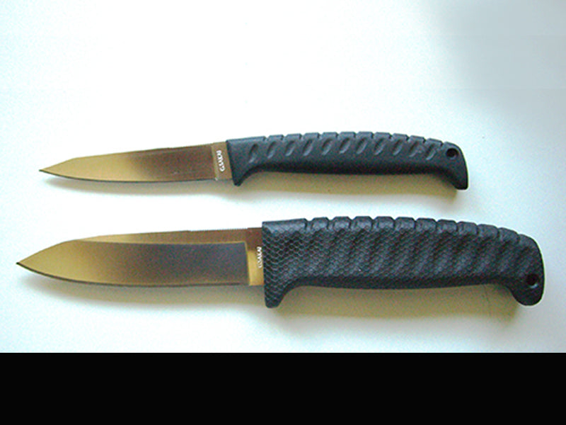 Wicky Chinu Rubber Handle Knife