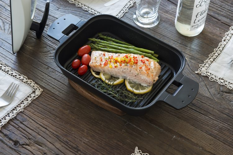STEAM GRILL Metal Cover