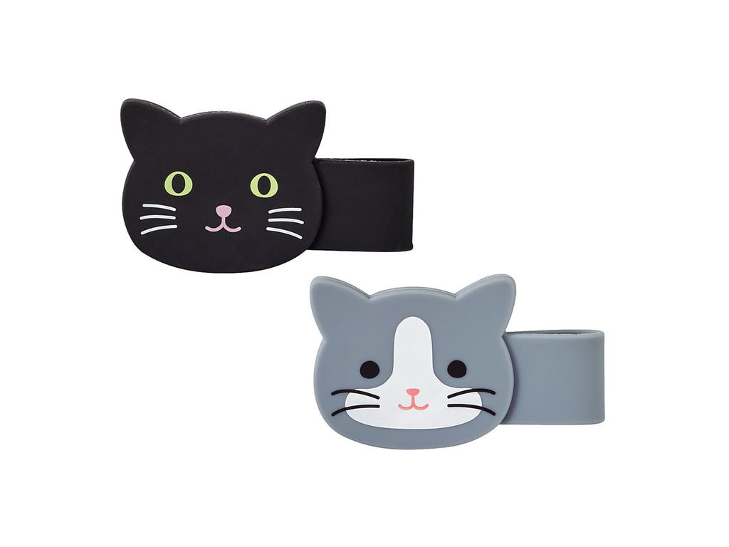 PuniLabo Magnet Clip - Set of 2 (Black and Grey)