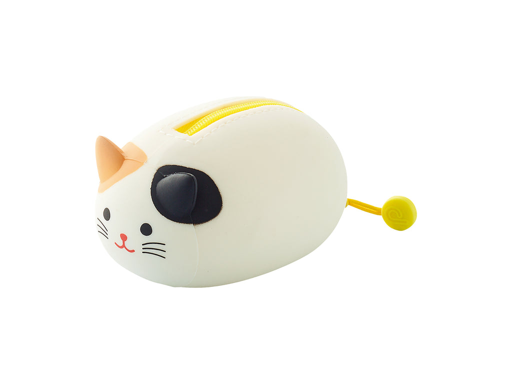 PuniLabo Resting Kitty Zipper Pouches