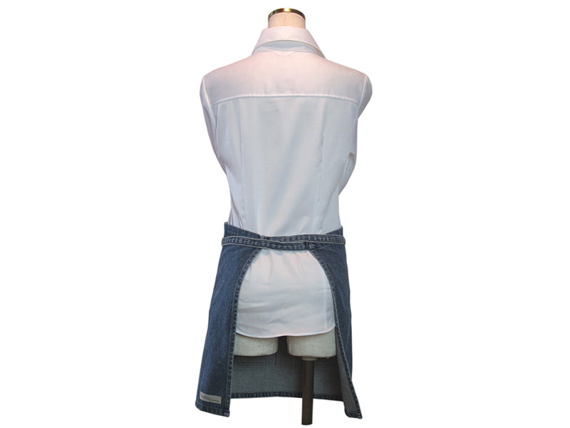 Denim Patchwork Cafe Apron