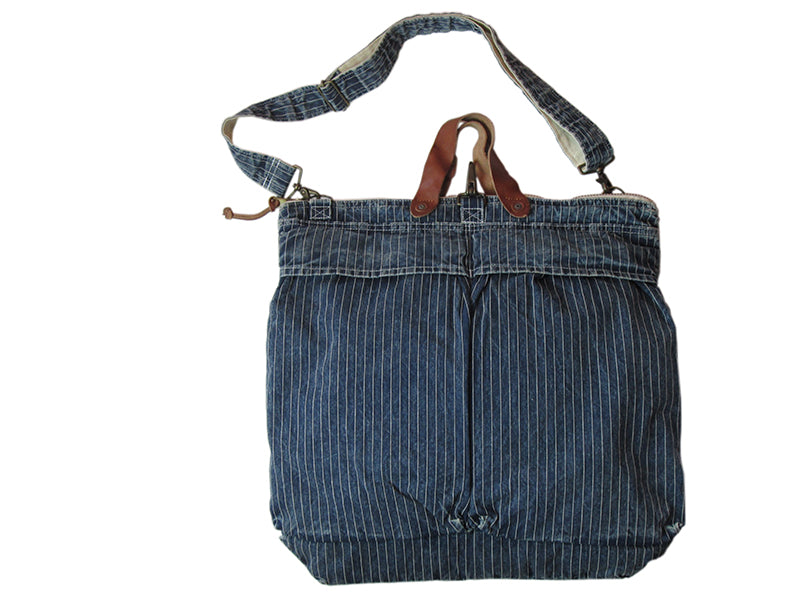 Denim Helmet Bag