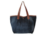 Leather Pocket Tote