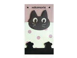 Kitty Memo Pads - Set of 3 (Mint Green, Orange, Pink)