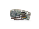 Money Clip Ukimon Damascus Pocket Knife
