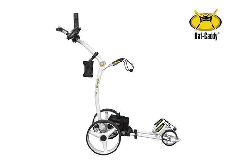 Bat Caddy X4R Lithium Remote Control Golf Caddy White