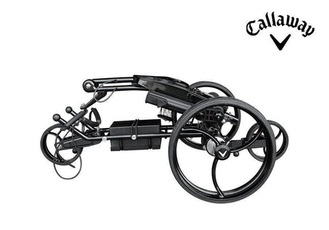 Image of Callaway Traverse Lithium Remote Control Electric Golf Push Cart Folded