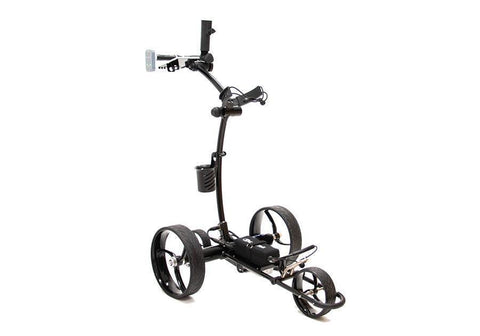 Image of CartTek 2019 GRi-1500Li Lithium Remote Control Golf Caddy Black