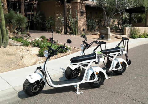 Image of Fat Tire Cruiser Golf Scooter