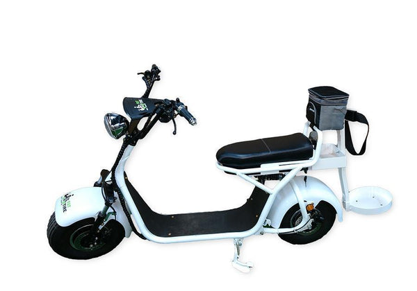 Fat Tire Cruiser 2 Wheel Electric Golf Scooter Single