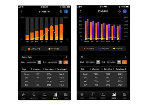 Swing Caddie SC300 Golf Launch Monitor App
