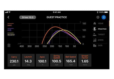Image of Swing Caddie SC300 Golf Launch Monitor App