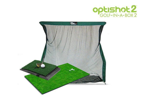 OptiShot 2 Golf-In-A-Box 2 Simulator Package