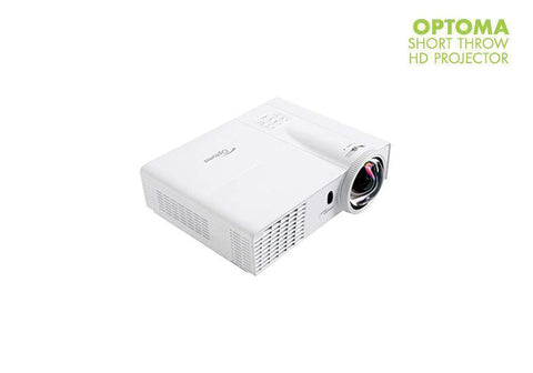 OptiShot 2 Golf-In-A-Box 3 Simulator Package Short Throw HD Projector