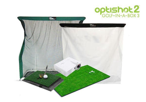 OptiShot 2 Golf-In-A-Box 3 Simulator Package