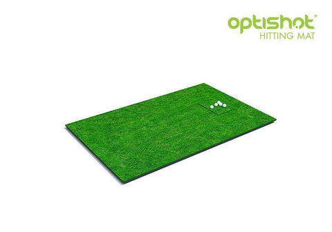 Image of OptiShot 2 Golf-In-A-Box 2 Simulator Package Hitting Mat