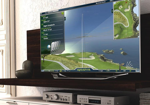 OptiShot 2 Golf-In-A-Box 2 Simulator Package Software