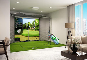 OptiShot 2 Golf In A Box Pro Golf Simulator Package