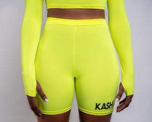 KA$H Sport Two Piece - Neon Green