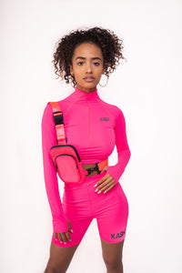 KA$H Sport Two Piece- Neon Pink