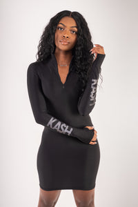 KA$H ID Dress - Black