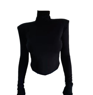 Structured Turtleneck