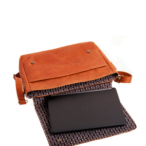 Laptop Bag(Toffee)
