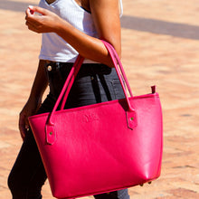 Load image into Gallery viewer, Pink Dorcas Bag