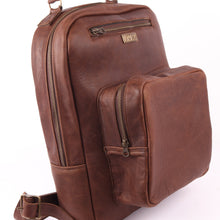 Load image into Gallery viewer, Diesel-Brown Buffalo Backpack