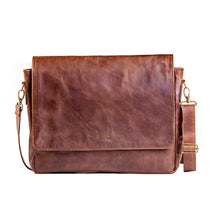 Load image into Gallery viewer, Laptop Bag (Diesel Brown)