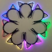 Load image into Gallery viewer, Premium Light Up LED Cat Ears