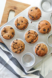 Dark Chocolate Chip Cupcakes