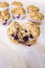 Load image into Gallery viewer, Banana Blueberry Muffins