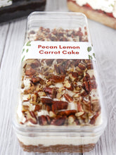 Load image into Gallery viewer, Pecan Lemon Carrot Cake