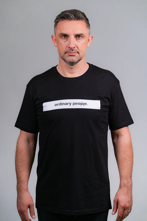 Ordinary People Classic Tee Black
